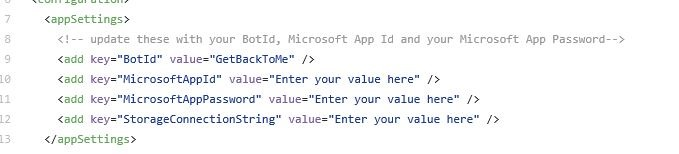 Using the Microsoft Bot Framework and Azure to create a